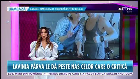 Star News. Cum a reuşit să slăbească Lavinia Pârva după naştere