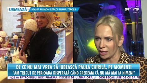 Star News: De ce nu mai vrea să iubească Paula Chirilă, pe moment: Nu duc lipsă de curtezani, dar sunt mult mai selectivă