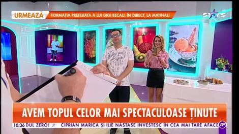 Star Matinal. Pictorul Flick desenează portretul lui Popescu. Se lasă cu scandal!