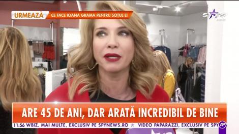 La 45 de ani, Ileana Badiu arată impecabil şi are o stiluetă de invidiat!