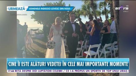 Star News. Primele imagini de la nunta lui Catrinel Sandu!