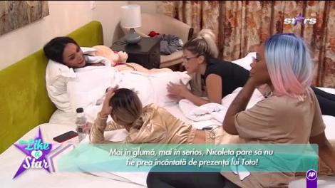Like a Star! Nicoleta și Tavi au dormit în același pat