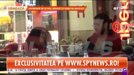 Cezar Ouatu s-a despărțit de logodnică și s-a cuplat cu fosta unui fotbalist celebru! Cine este domnișoara care i-a furat inima