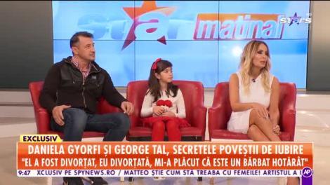 Star Matinal. Daniela Gyorfi și George Tal, secretele poveștii de iubire