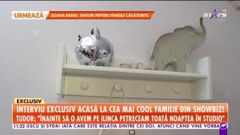 Star Matinal. Ana şi Tudor Ionescu, interviu din camerea copilui: Ce-i prea mult strică pentru un copil