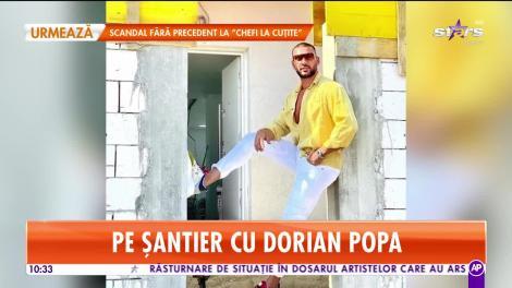 Star Matinal. Pe șantier cu Dorian Popa. A investit sute de mii de euro și încă nu este gata