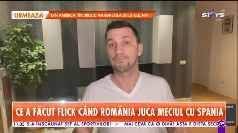 Star Matinal. Ce a făcut Flick când România juca meciul cu Spania. Ascultă aici mesajul în rime