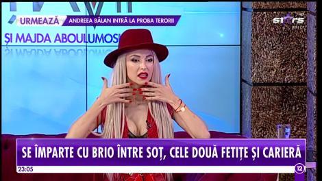 """Andreea Bălan şi fetiţele ei, """"scandal"""" în baie cu George!"""