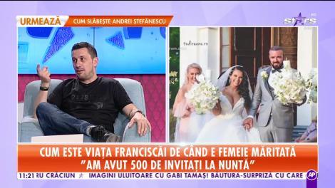 Star Matinal. Cum este viața Franciscăi Dulceanu de când e femeie măritată: La nuntă am ieșit cu banii foarte bine