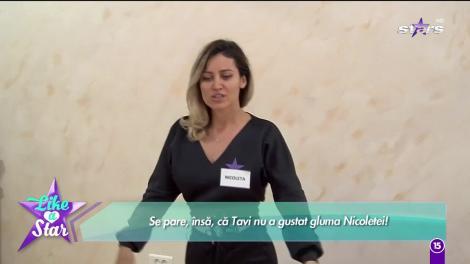 Like a Star. Nicoleta îi face o farsă lui Tavi, dar concurentul nu gustă gluma: Vrei să ne despărțim?