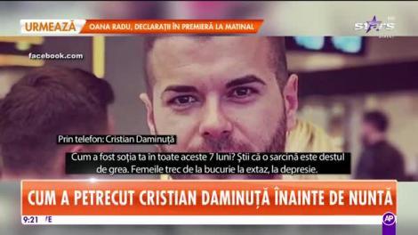 Star Matinal. Cum a petrecut Cristian Daminuţă înainte de nuntă