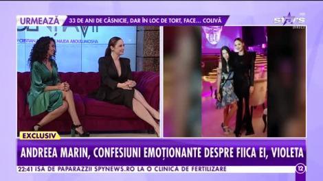 """Andreea Marin, dezvăluiri neașteptate despre relația dintre iubitul ei și Violeta: """"Îi e partener de trăznăi oricând!"""""""