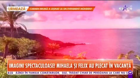 Star Matinal. Mihaela Rădulescu şi Felix Baumgartner, vacanţă de lux