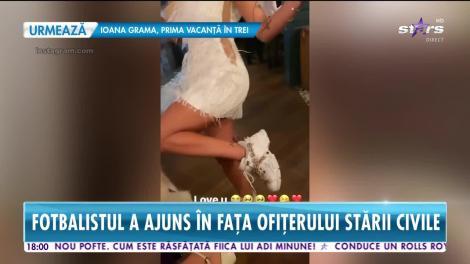Star News. Imagini de la nunta fotbalistului Alexandru Mitriţă