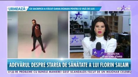 Star News. Adevărul despre starea de sănătate a lui Florin Salam: A avut probleme cu vocea