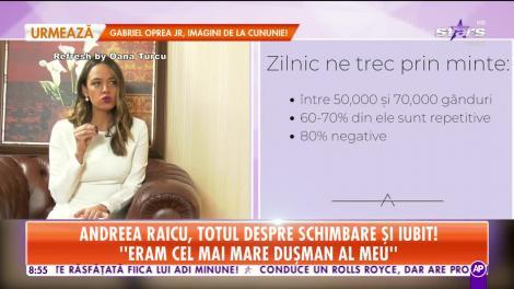 Andreea Raicu, totul despre schimbare şi bărbatul misterios din viaţa ei!