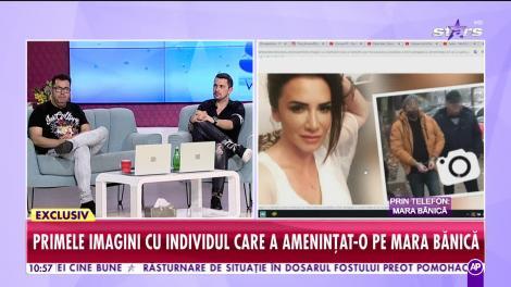 Mara Bănică face primele declaraţii după ce individul care a ameninţat-o a fost prins!