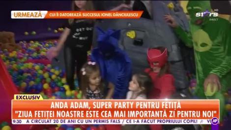 Star Matinal. Anda Adam, super party pentru fetiță