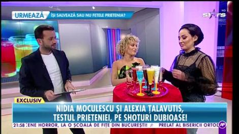 Rai da Buni. Nidia Moculescu si Alexia Țalavutis, testul prieteniei, pe shoturi dubioase!