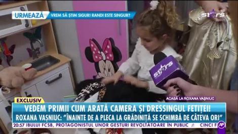 Roxana Vaşniuc ne deschide uşa casei şi ne arată camera şi dressing-ul fiicei! O moşteneşte sau nu micuţa Rose-Marie pe mama ei?