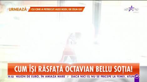 Cum îşi răsfaţă soţia Octavian Bellu