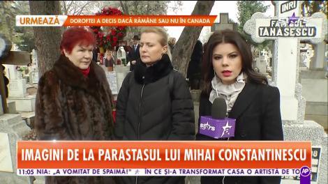 Familia lui Mihai Constantinescu a organizat parastasul de 40 de zile