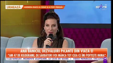 Ana Baniciu, super dezvăluiri, în direct, la Star Matinal! Totul despre picanteriile din viaţa ei