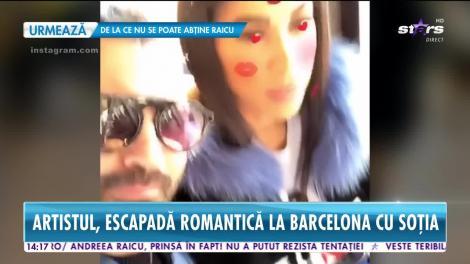 Pepe şi Raluca au plecat într-o vacanţă romantică