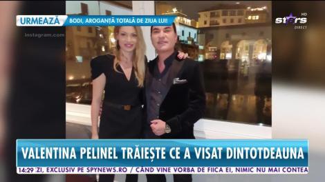 Valentina Pelinel a împlinit 39 de ani, dar arată ca o puștoaică de 20 de ani