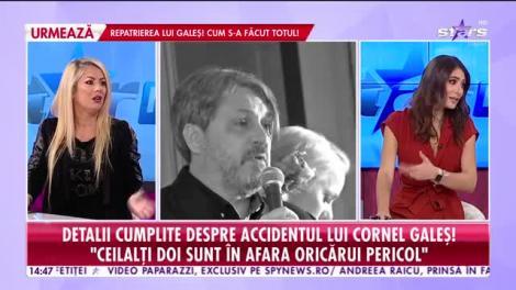 Detalii cumplite despre accidentul lui Cornel Galeş! Ce au văzut martorii! Declaraţii dure!