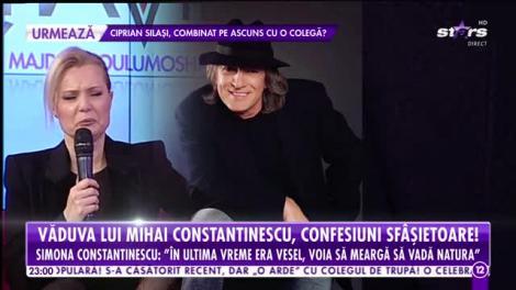 Agenţia VIP. Văduva lui Mihai Constantinescu, confesiuni sfâşietoare: În ultima perioadă era vesel, voia să meargă să vadă natura