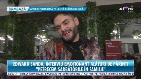 Edward Sanda, interviu emoționant alături de familia sa