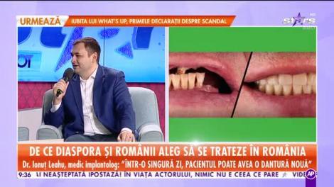 Star Matinal. De ce diaspora și românii aleg să se trateze în România?