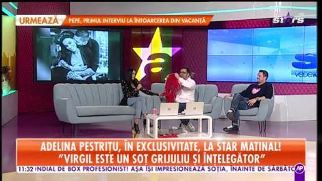 Adelina Pestriţu, în exclusivitate, la Star Matinal! Frumoasa vedetă vorbeşte despre perioada sărbătorilor din copilărie