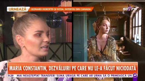 Star Matinal. Maria Constantin, interviu în exclusivitate!
