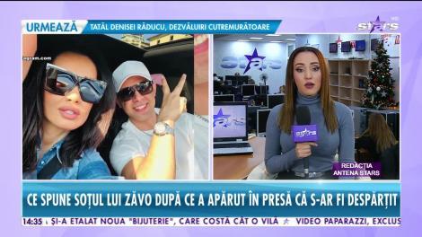 Star News. Ce spune soțul Oanei Zăvoranu după ce a apărut în presă că s-ar fi despărțit
