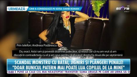 Star News. Andreea Podărescu, bruneta fatală a showbizului, bătută de concubina fostului iubit