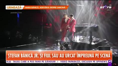 Star Matinal. Ștefan Bănică și fiul său au urcat împreună pe scenă