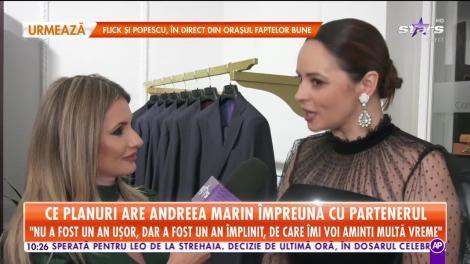 Star Matinal. Ce planuri are Andreea Marin împreună cu partenerul: Îmi petrec sărbătorile și cu iubitul meu