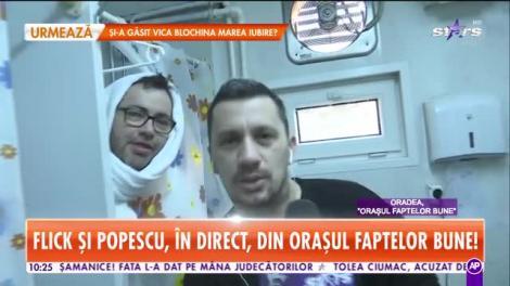 Star Matinal. Flick şi Popescu, aventuri în Oraşul faptelor bune