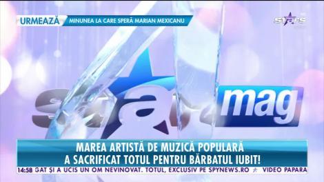 Star News. Maria Ciobanu, marea artistă de muzică populară, a sacrificat totul pentru bărbatul iubit