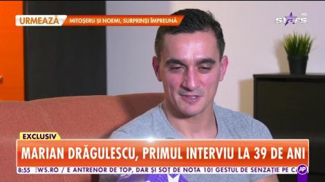 Star Matinal. Marian Drăgulescu, primul interviu la 39 de ani
