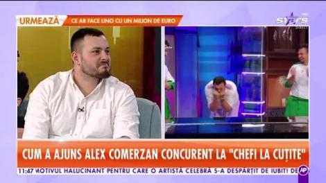 """Alexandru Comerzan și familia, în direct la Star Matinal! Cum a ajuns să participe la """"Chefi la cuțite"""": """"Olguța m-a înscris. Ce-am mai tras cu cuțitul de aur...Mamăăăă!"""""""