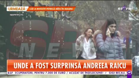 Star Matinal. Andreea Raicu a ieșit din casă fără strop de machiaj