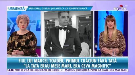 Star News. Fiul lui Marcel Toader, primul Crăciun fără tată