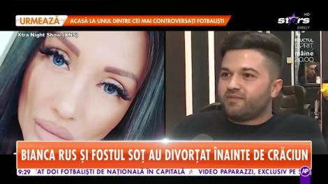 Star Matinal. Bianca Rus și fostul soț au divorțat înainte de Crăciun