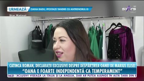 Star News. Catinca Roman, declarații exclusive despre despărțirea Oanei Roman de Marius Elisei