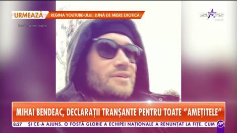 Mihai Bendeac, declaraţii incendiare! Acum a spus pentru prima dată motivul de ce nu s-a căsătorit! - VIDEO