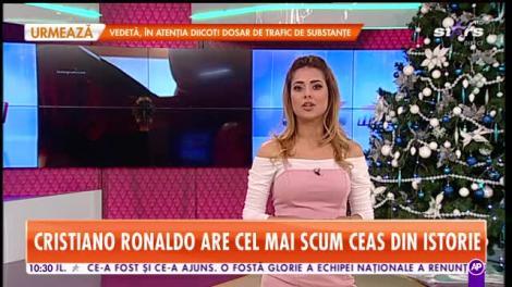 Cristiano Ronaldo îi sfidează pe toţi miliardarii lumii! Şi-a achiziţionat cel mai scump ceas din istorie!