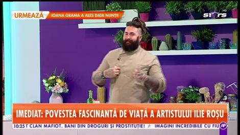 Ilie Roşu, petrecere de zile mari în platoul Star Matinal!